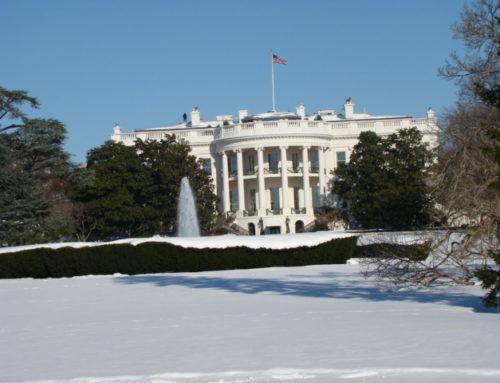 וושינגטון והמפלים בלבן